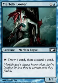Merfolk Looter - Magic 2010