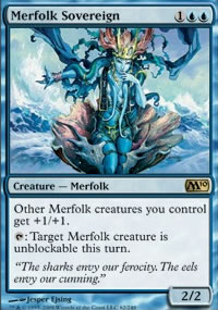 Merfolk Sovereign - Magic 2010