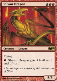 Shivan Dragon - Magic 2010