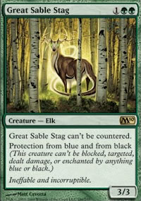 Great Sable Stag - Magic 2010