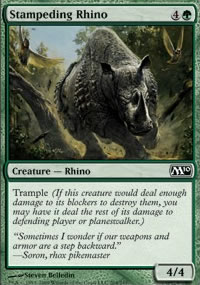 Stampeding Rhino - Magic 2010