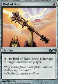 Rod of Ruin - Magic 2010
