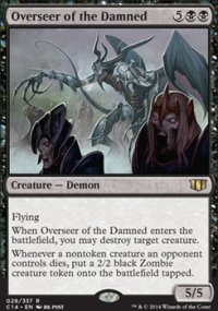 Overseer of the Damned - Commander 2014