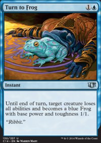 Turn to Frog - Commander 2014