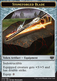 Stoneforged Blade - Commander 2014