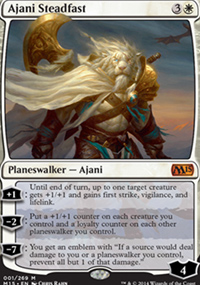 Ajani Steadfast - Magic 2015