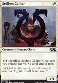 Selfless Cathar - Magic 2015