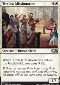 Tireless Missionaries - Magic 2015