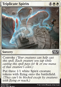 Triplicate Spirits - Magic 2015