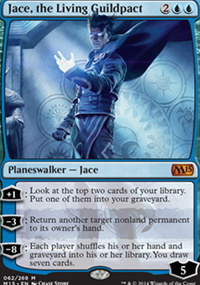 Jace, the Living Guildpact - Magic 2015
