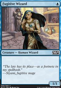 Fugitive Wizard - Magic 2015