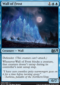 Wall of Frost - Magic 2015