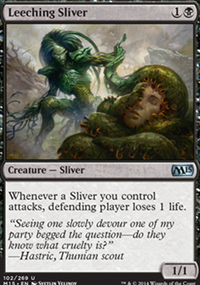 Leeching Sliver - Magic 2015