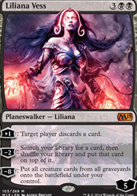 Liliana Vess - Magic 2015
