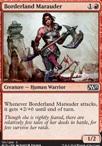 Borderland Marauder - Magic 2015