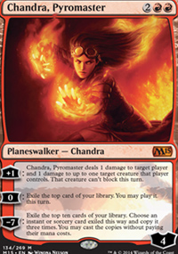 Chandra, Pyromaster - Magic 2015