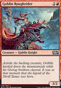 Goblin Roughrider - Magic 2015