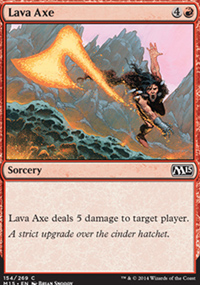 Lava Axe - Magic 2015