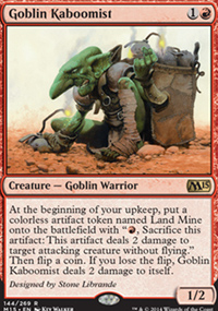 Goblin Kaboomist - Magic 2015