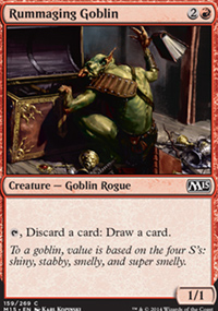Rummaging Goblin - Magic 2015