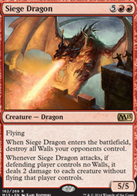 Siege Dragon - Magic 2015
