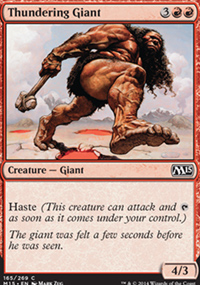Thundering Giant - Magic 2015