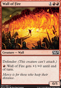Wall of Fire - Magic 2015