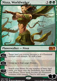 Nissa, Worldwaker - Magic 2015
