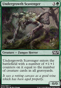 Undergrowth Scavenger - Magic 2015