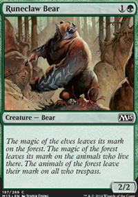 Runeclaw Bear - Magic 2015