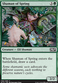 Shaman of Spring - Magic 2015