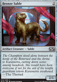Bronze Sable - Magic 2015