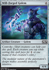 Will-Forged Golem - Magic 2015
