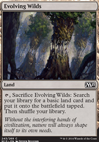 Evolving Wilds - Magic 2015