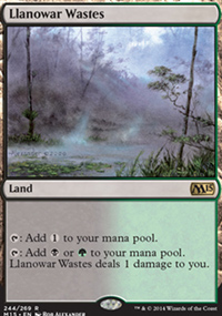Llanowar Wastes - Magic 2015
