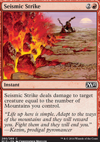 Seismic Strike - Magic 2015