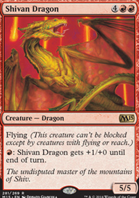 Shivan Dragon - Magic 2015