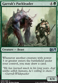 Garruk's Packleader - Magic 2015