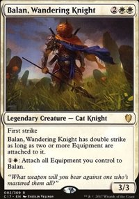 Balan, Wandering Knight - Commander 2017
