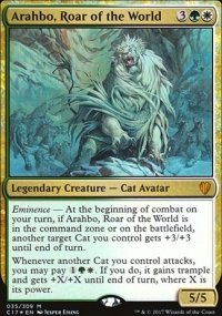 Arahbo, Roar of the World - Commander 2017