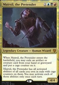 Mairsil, the Pretender - Commander 2017