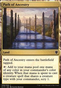 Path of Ancestry - Commander 2017