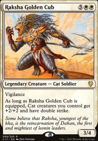 Raksha Golden Cub - Commander 2017
