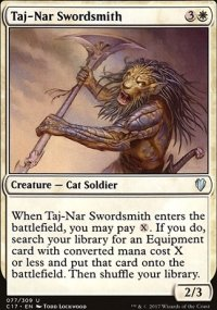 Taj-Nar Swordsmith - Commander 2017