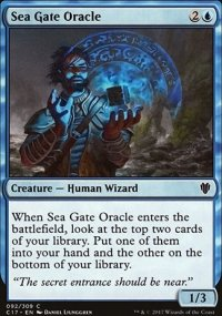 Sea Gate Oracle - Commander 2017