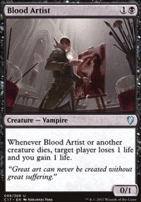 Blood Artist - Commander 2017