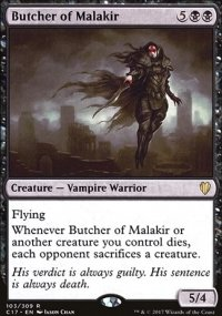 Butcher of Malakir - Commander 2017