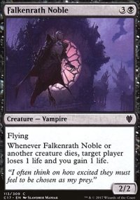 Falkenrath Noble - Commander 2017