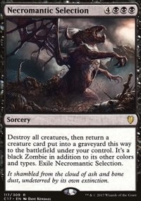Necromantic Selection - Commander 2017