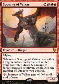 Scourge of Valkas - Commander 2017